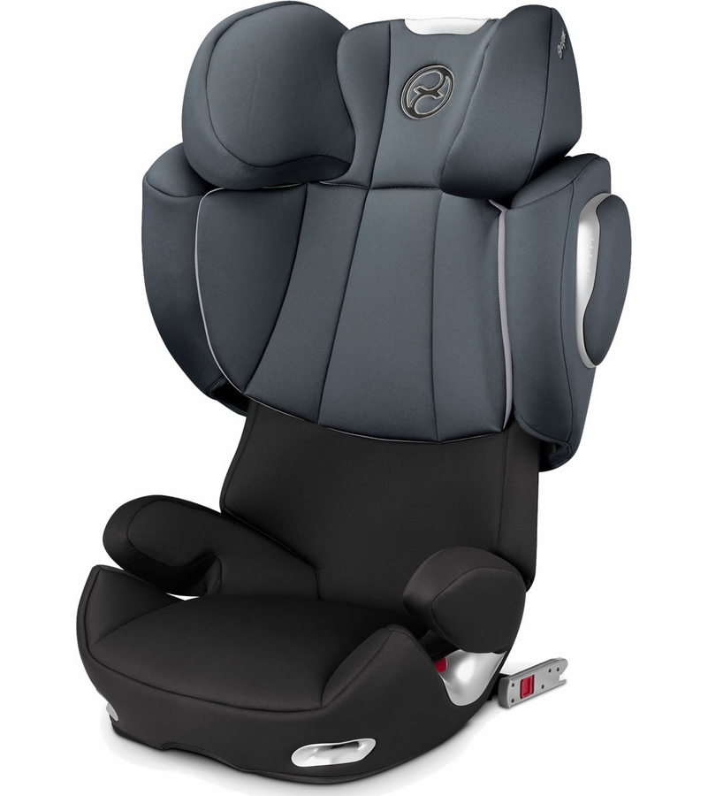 cybex solution q2 fix booster car seat moon dust. Black Bedroom Furniture Sets. Home Design Ideas