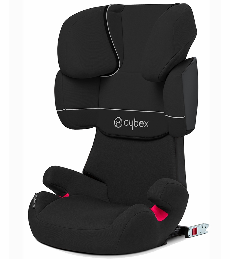 cybex solution x fix booster car seat pure black. Black Bedroom Furniture Sets. Home Design Ideas