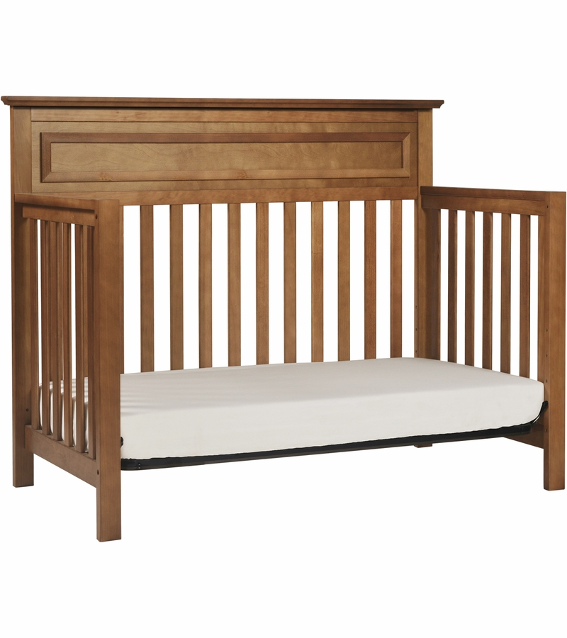 Davinci Autumn 4 In 1 Convertible Crib In Chestnut Finish