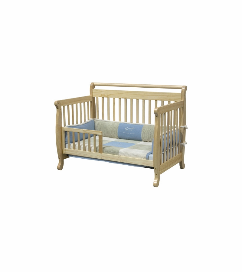 Davinci emily 4 in 1 convertible crib natural for Child craft soho 4 in 1 convertible crib in natural