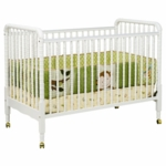 DaVinci Jenny Lind 3-in-1 Stationary Convertible Crib White