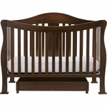 DaVinci Parker 4-in-1 Convertible Crib in Coffee