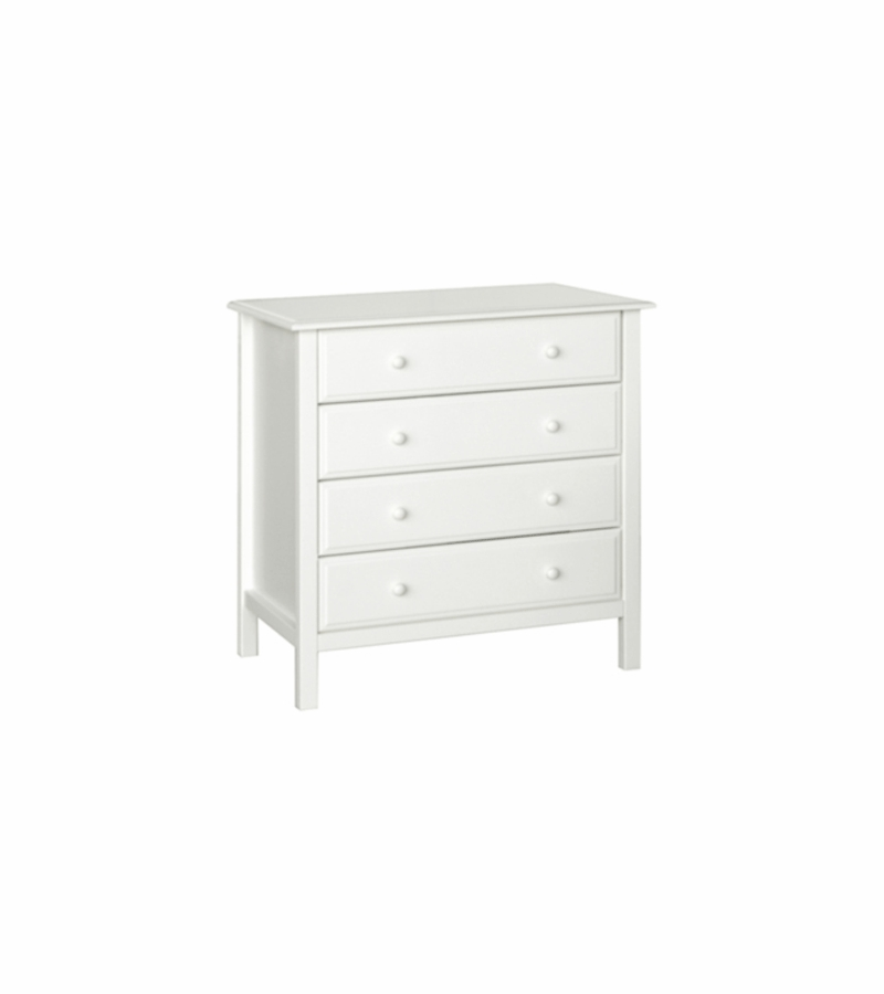 davinci jayden 4 drawer dresser in white. Black Bedroom Furniture Sets. Home Design Ideas
