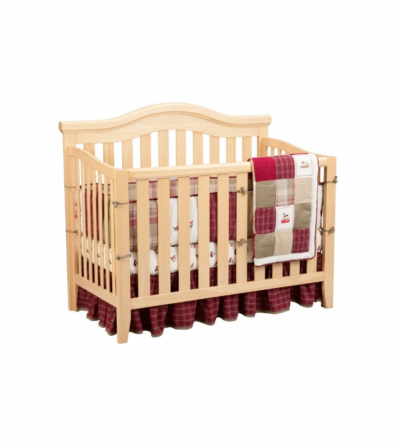 Delta venetian lifetime 4 in 1 convertible crib natural for Child craft soho 4 in 1 convertible crib in natural