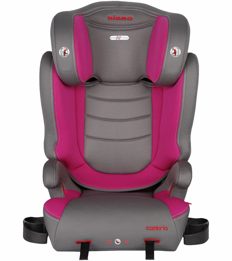 Diono Cambria High Back Booster Car Seat Raspberry