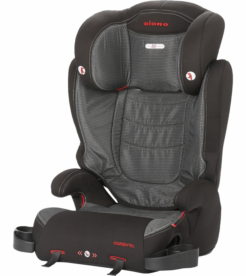 diono cambria high back booster car seat shadow. Black Bedroom Furniture Sets. Home Design Ideas