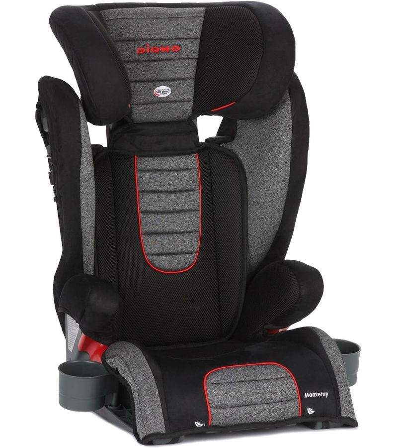 diono monterey booster car seat heather. Black Bedroom Furniture Sets. Home Design Ideas