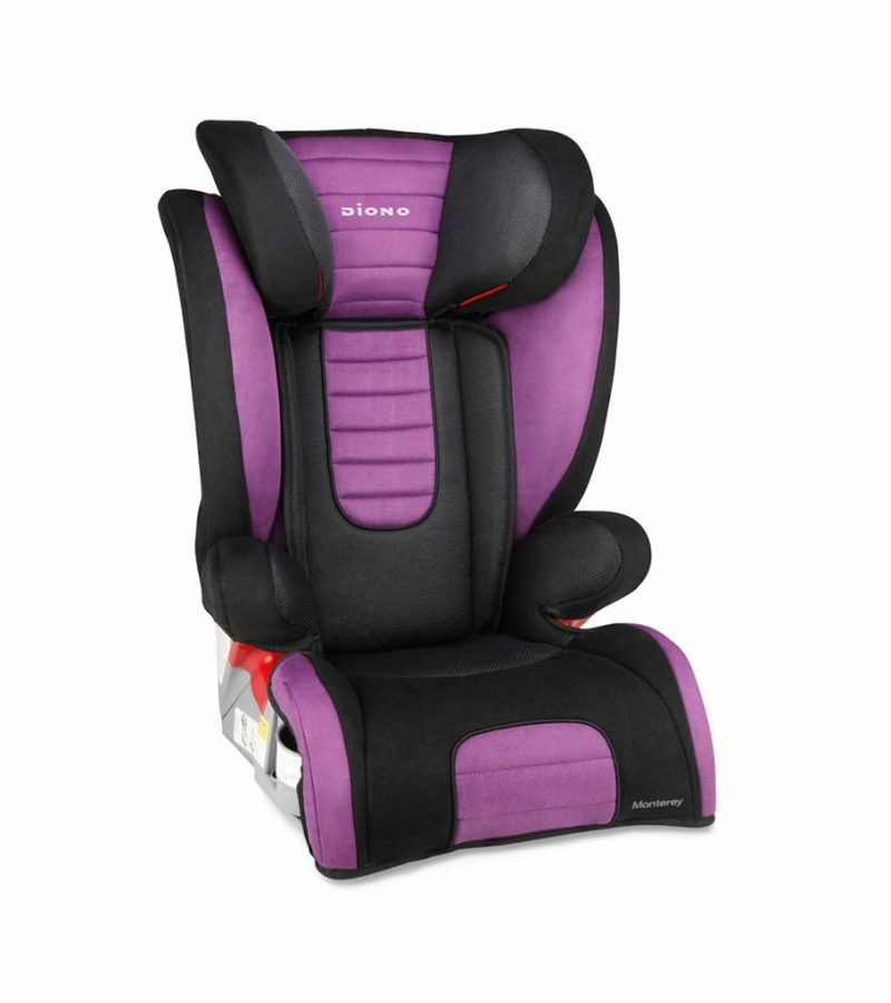 diono monterey booster car seat purple. Black Bedroom Furniture Sets. Home Design Ideas