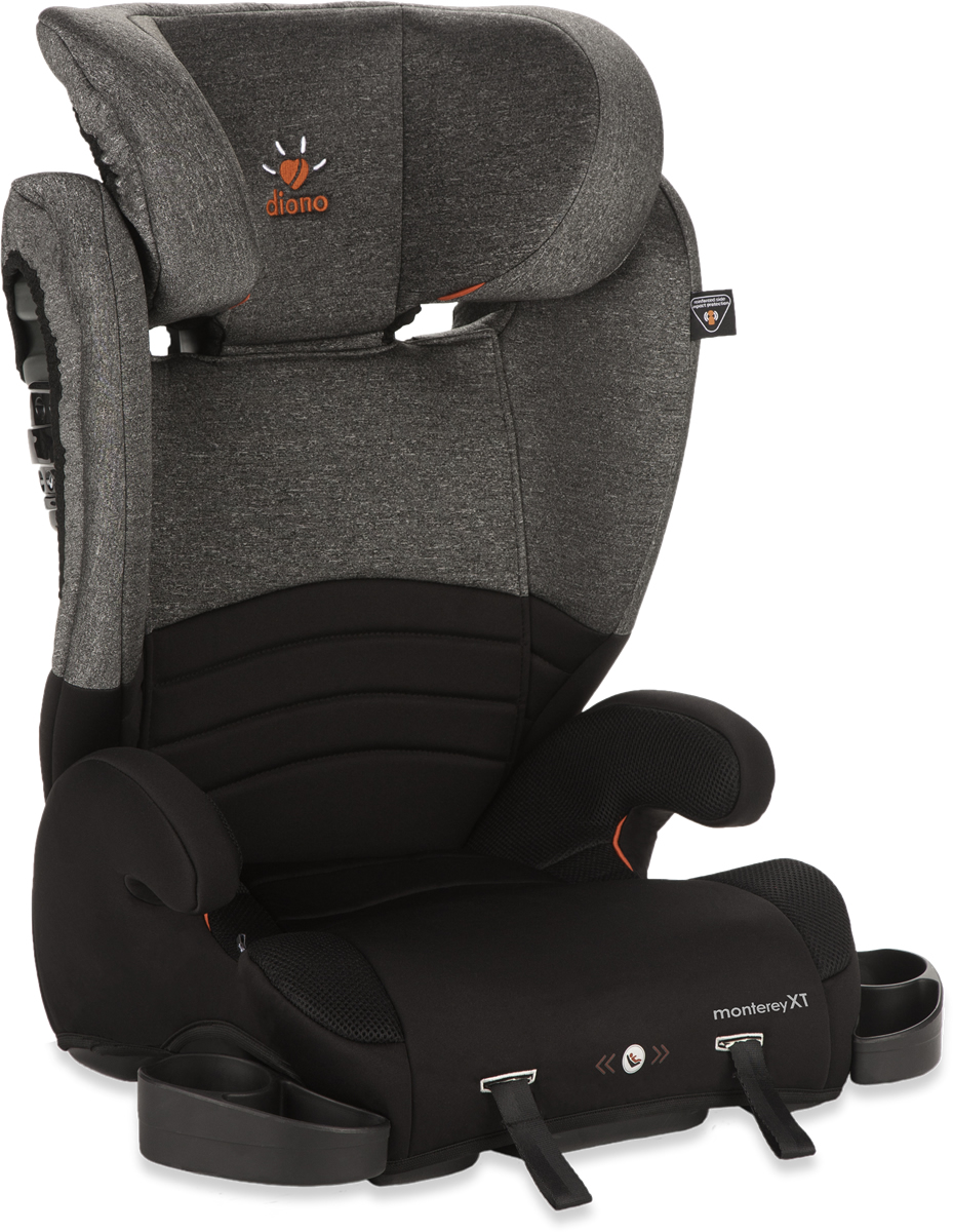 Diono Monterey XT High Back Booster Car Seat - Heather