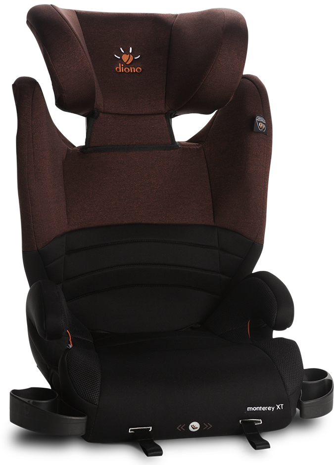 Diono Monterey XT High Back Booster Car Seat - Red