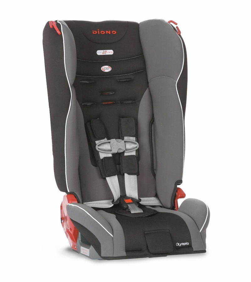 diono olympia convertible booster car seat graphite