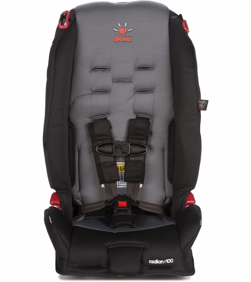 Diono Radian R100 Convertible Booster Car Seat Graphite