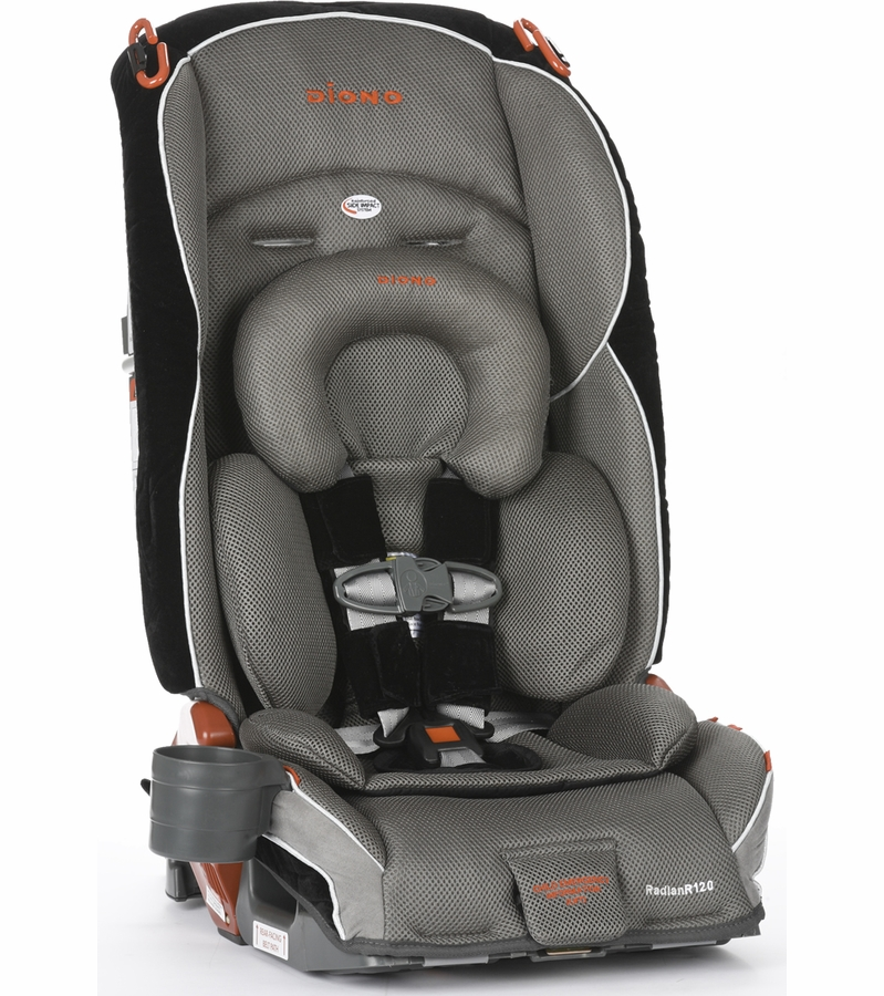 diono radian r120 convertible booster car seat eclipse. Black Bedroom Furniture Sets. Home Design Ideas