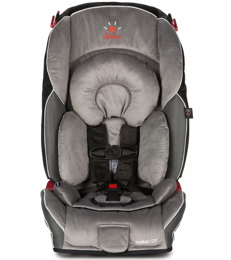 diono radian r120 convertible booster car seat storm. Black Bedroom Furniture Sets. Home Design Ideas