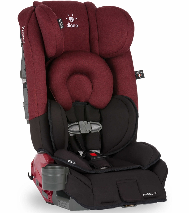 diono radian rxt convertible booster car seat black scarlet. Black Bedroom Furniture Sets. Home Design Ideas