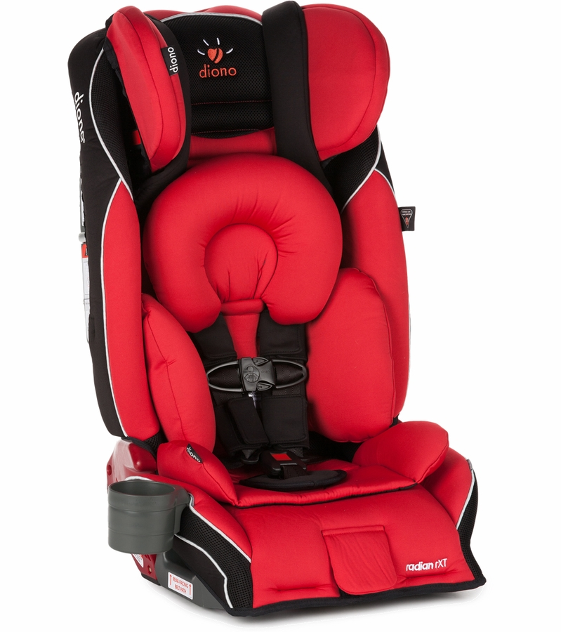 Diono Radian RXT Convertible + Booster Car Seat - Red
