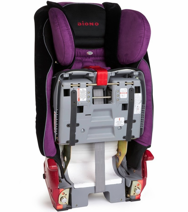 diono radian rxt all in one convertible car seat plum. Black Bedroom Furniture Sets. Home Design Ideas