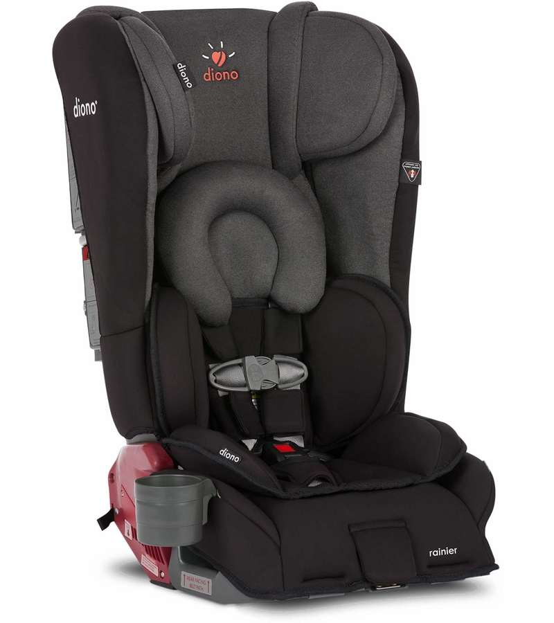 diono rainier convertible booster car seat black mist. Black Bedroom Furniture Sets. Home Design Ideas