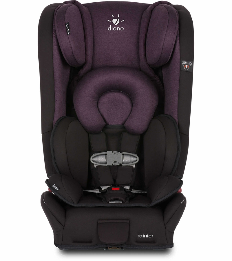 diono rainier all in one convertible car seat black plum. Black Bedroom Furniture Sets. Home Design Ideas