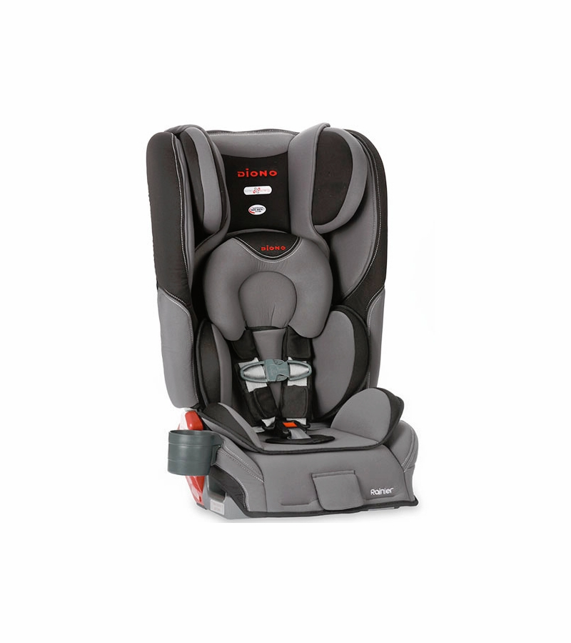 diono rainier convertible booster car seat graphite. Black Bedroom Furniture Sets. Home Design Ideas