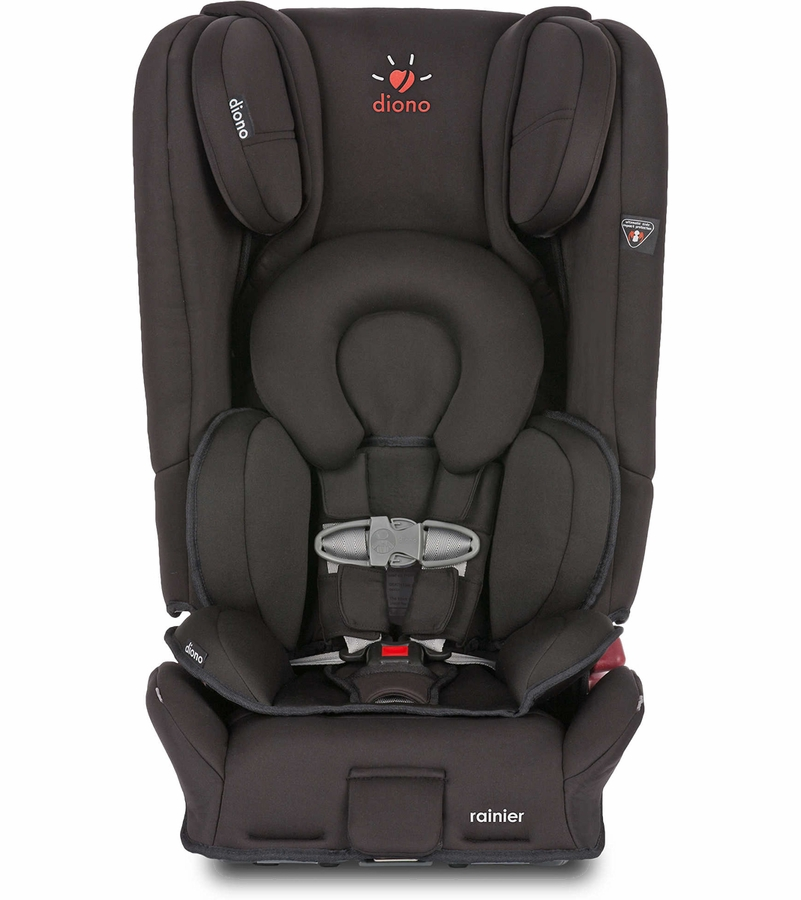 diono rainier convertible booster car seat midnight. Black Bedroom Furniture Sets. Home Design Ideas