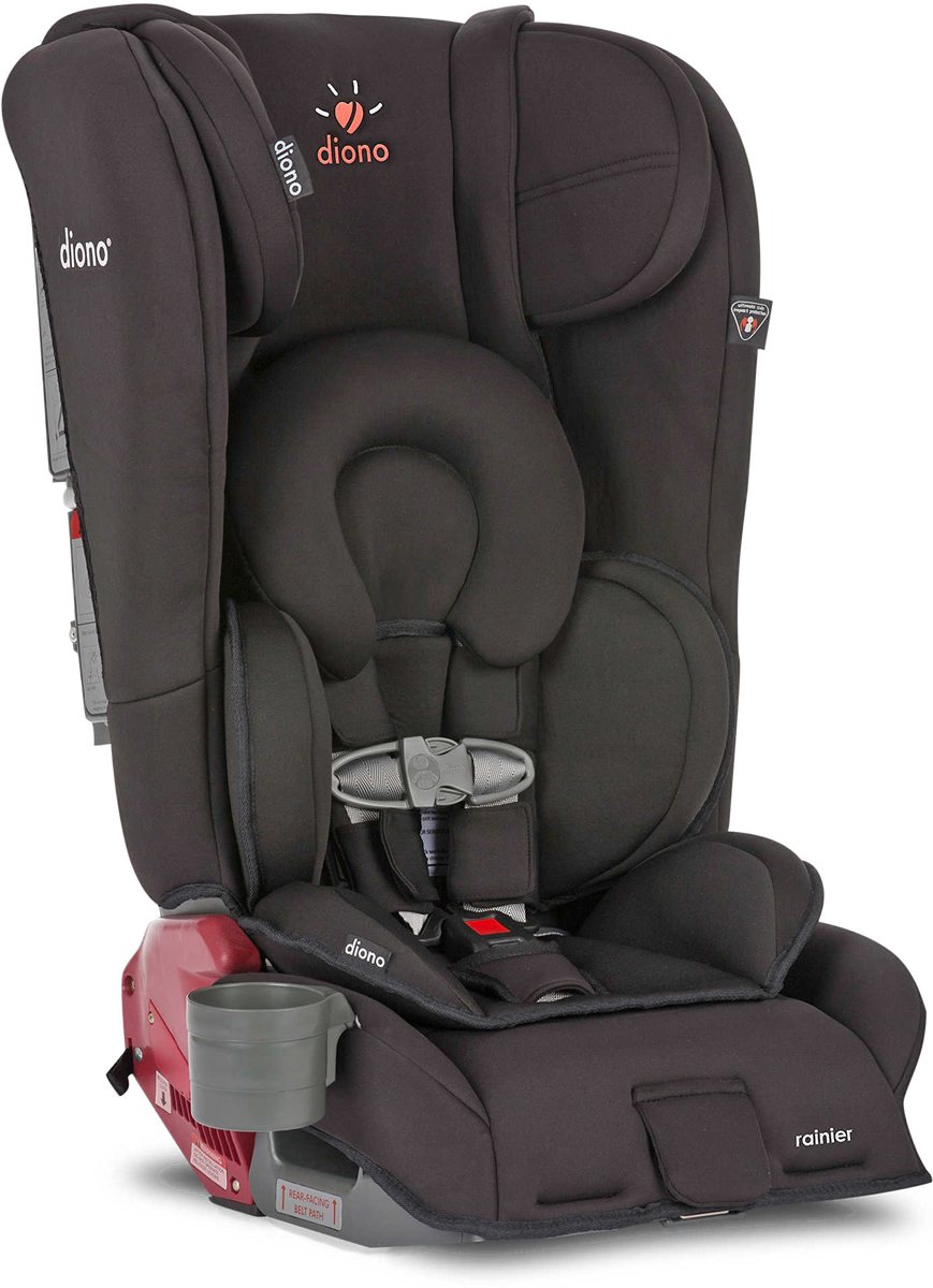 diono rainier all in one convertible car seat midnight. Black Bedroom Furniture Sets. Home Design Ideas