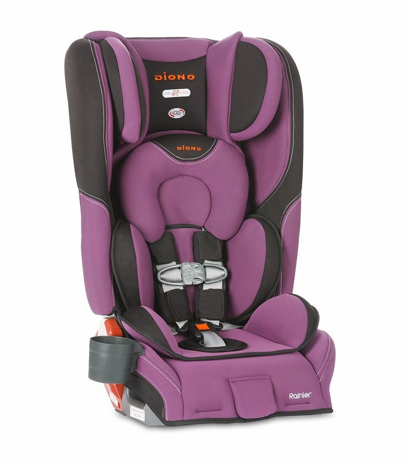 diono rainier convertible booster car seat orchid. Black Bedroom Furniture Sets. Home Design Ideas