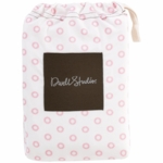 DwellStudio Floral Dot Pale Rose Fitted Crib Sheet