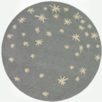 DwellStudio Galaxy Dusk Round Rug - 5 FT