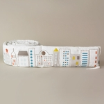 DwellStudio Skyline Light Blue Bumper