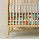 DwellStudio Transportation Multi Crib Skirt
