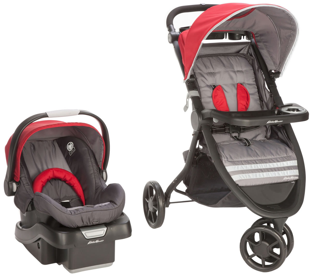 Eddie Bauer Alpine 3 Travel System - Salsa Red