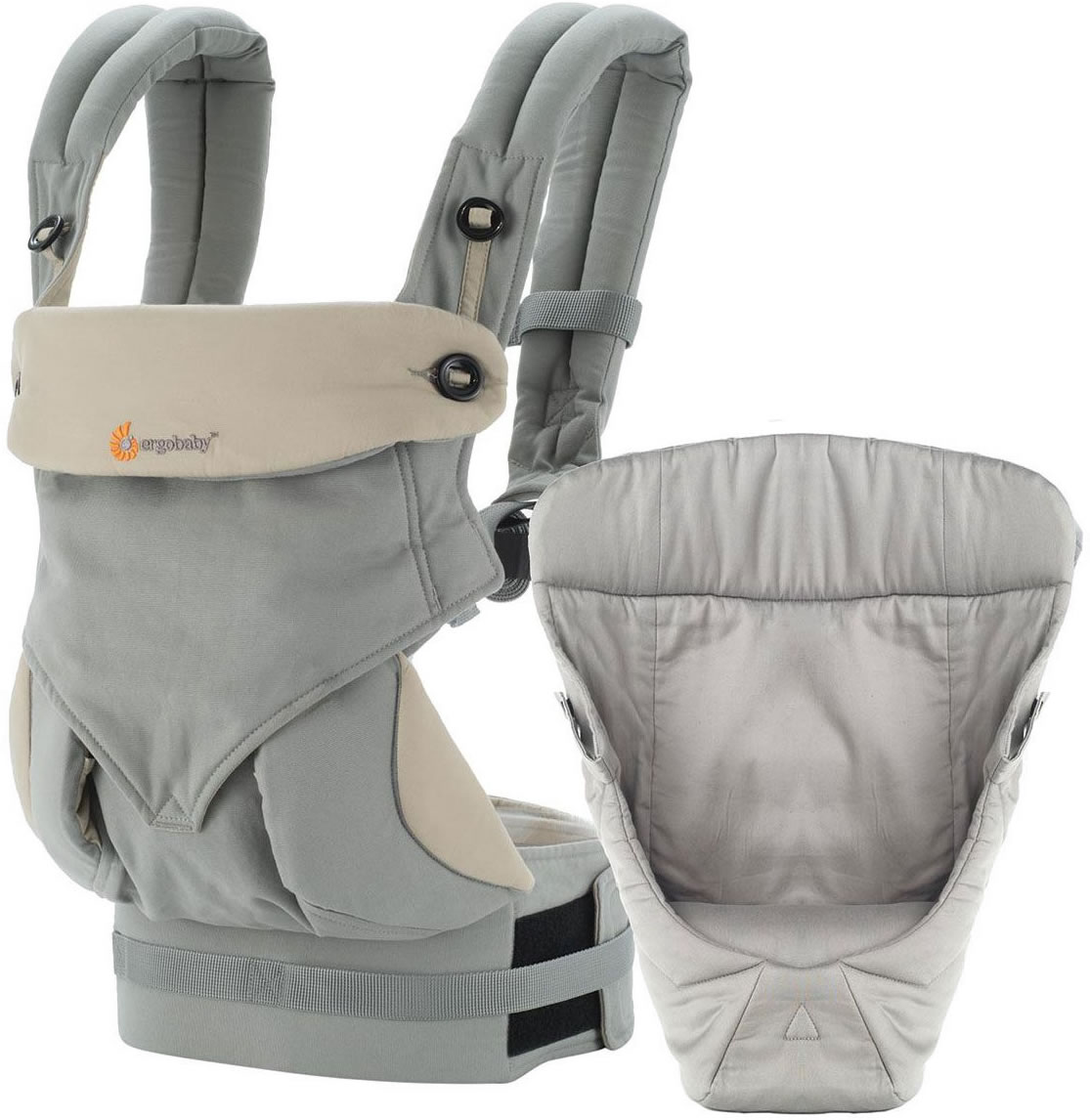 Ergobaby 360 Bundle of Joy Infant Carrier with Easy Snug ...