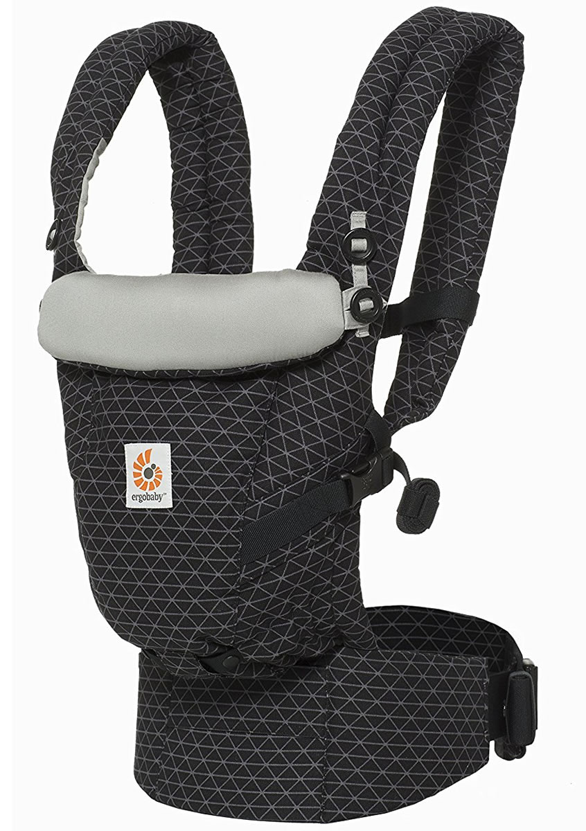 Ergobaby Adapt Baby Carrier - Geo Black