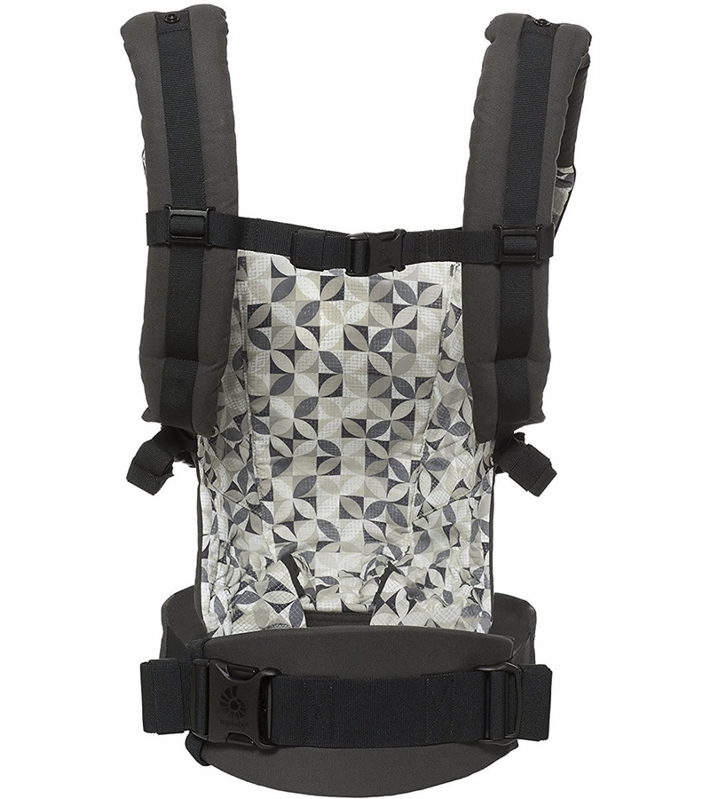 Ergobaby Adapt Baby Carrier Graphic Grey