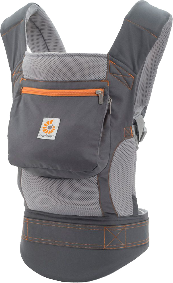 Ergobaby Performance Baby Carrier - Stone Grey
