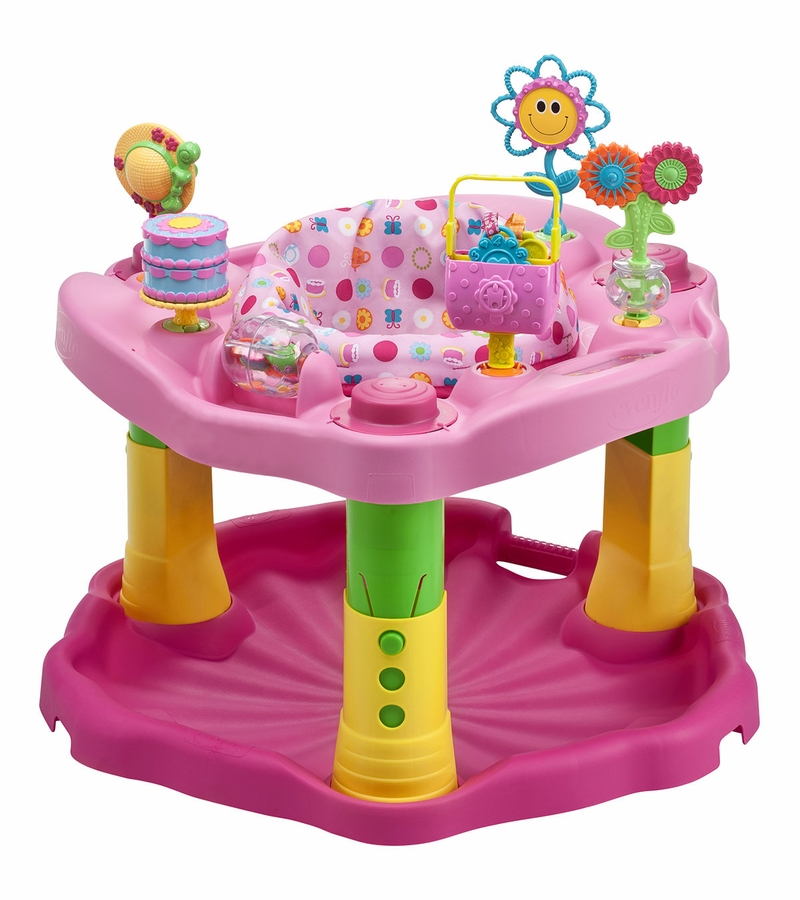 evenflo exersaucer activity center 123 tea for me. Black Bedroom Furniture Sets. Home Design Ideas