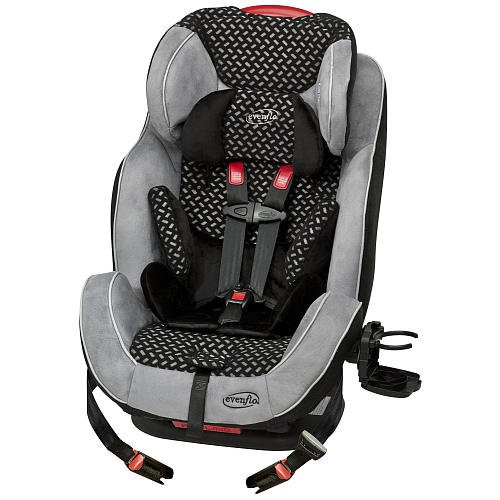 evenflo symphony 65 lx all in one car seat graphic black. Black Bedroom Furniture Sets. Home Design Ideas