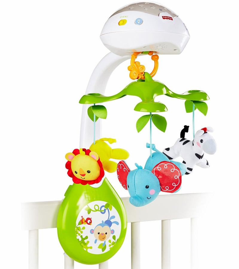 Fisher price 3 in 1 deluxe projection mobile for Silla 3 en 1 fisher price