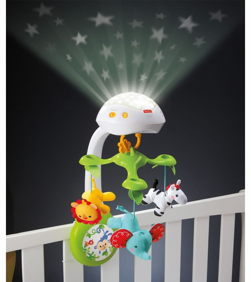 Fisher Price 3 In 1 Deluxe Projection Mobile