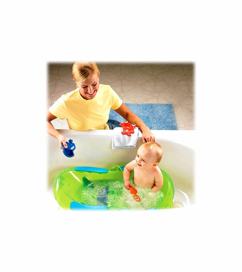 fisher price 3 stage rainforest bath tub. Black Bedroom Furniture Sets. Home Design Ideas