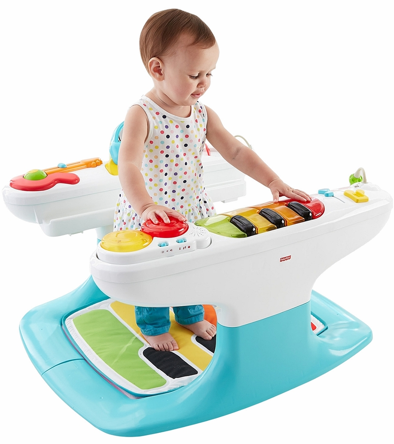 Fisher price 4 in 1 step 39 n play piano for Chaise 4 en 1 fisher price