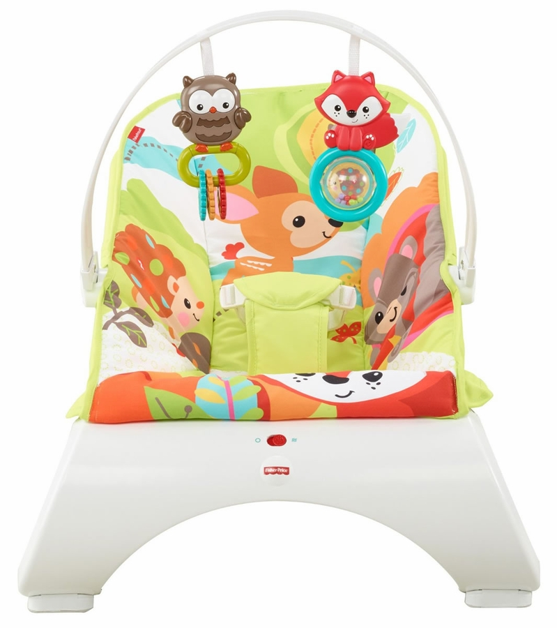 fisher price comfort curve bouncer woodland friends