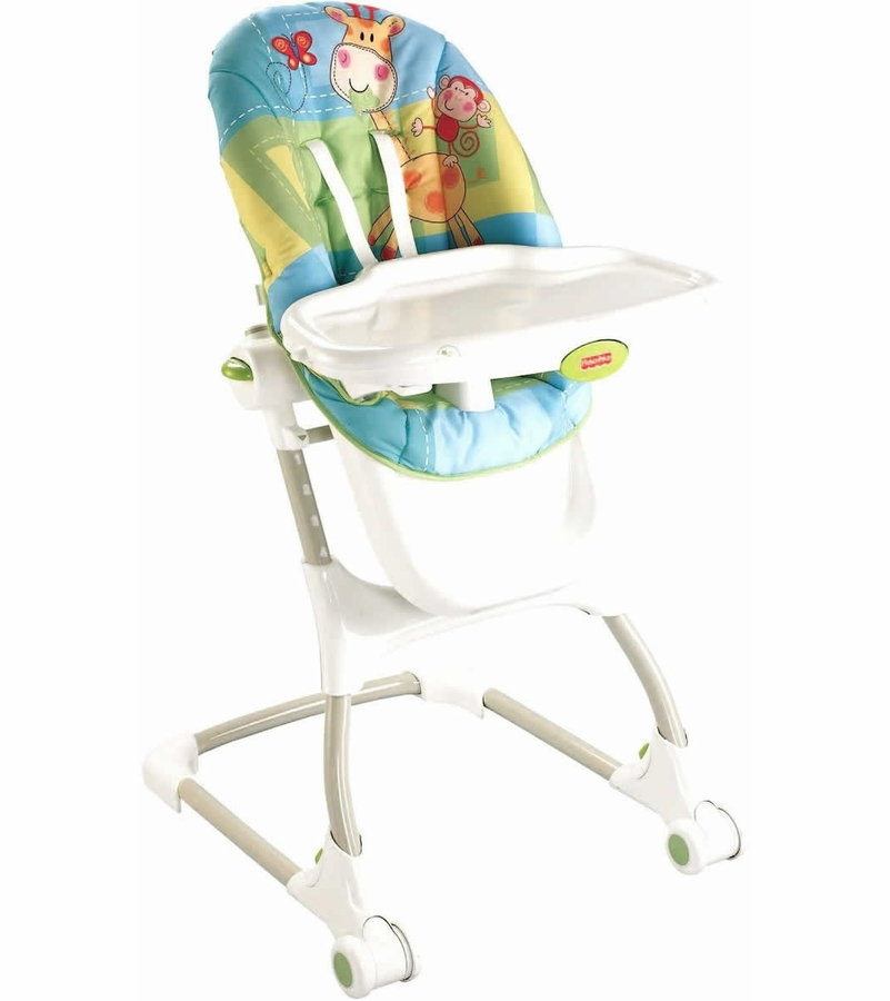 Fisher price discover n 39 grow ez clean high chair for Silla fisher price
