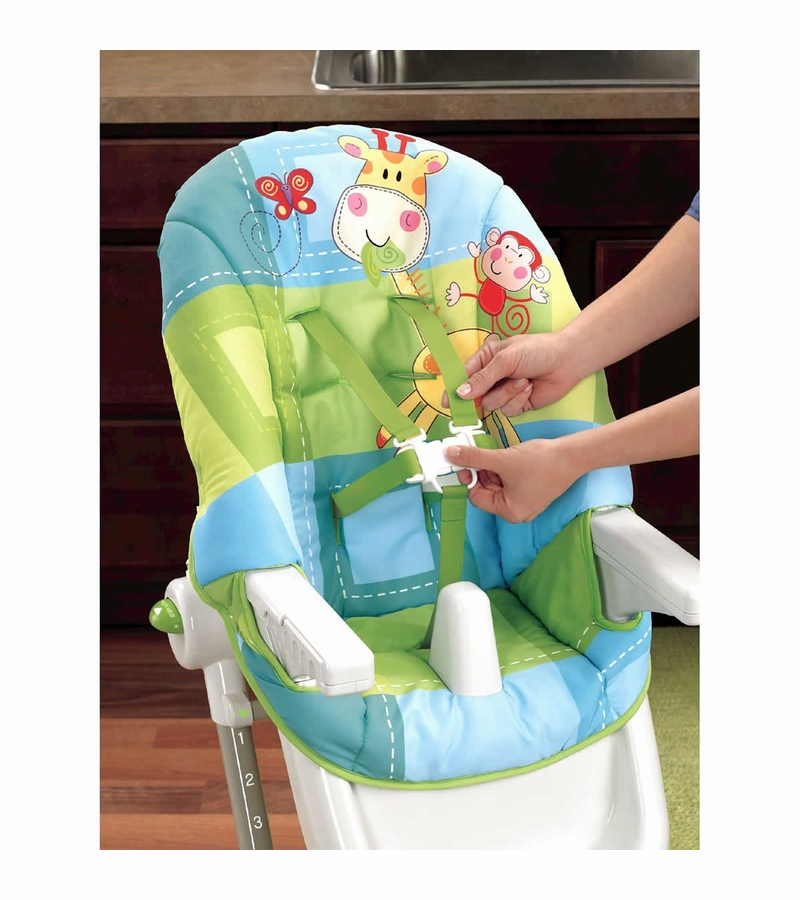how to clean highchair seatbelts