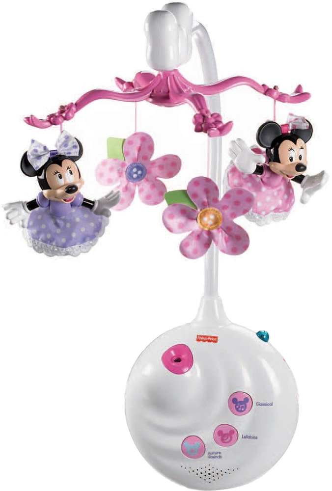 Fisher Price Disney Baby Minnie Mouse Projection Mobile