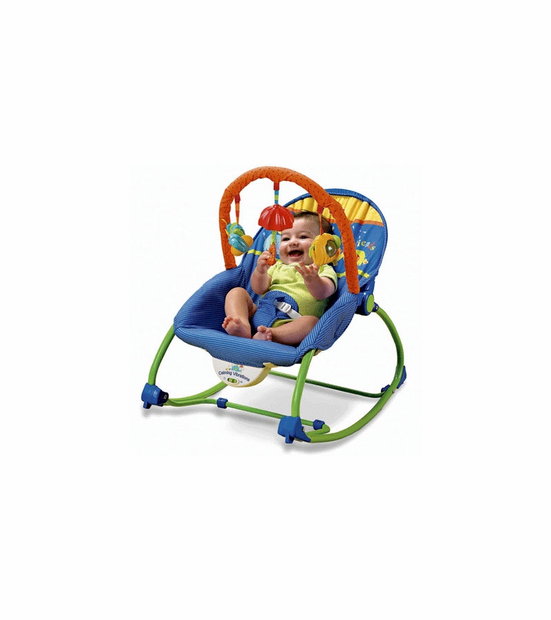 Fisher price infant to toddler rocker bouncer for Chaise vibrante
