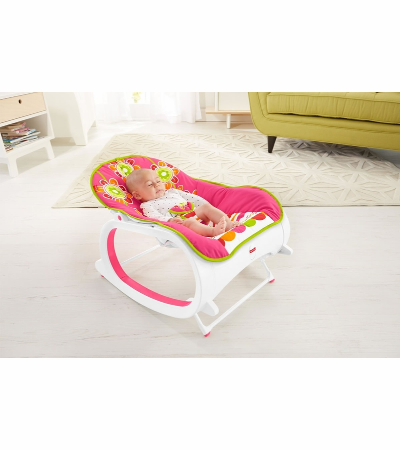 Fisher Price Infant To Toddler Rocker Floral Confetti