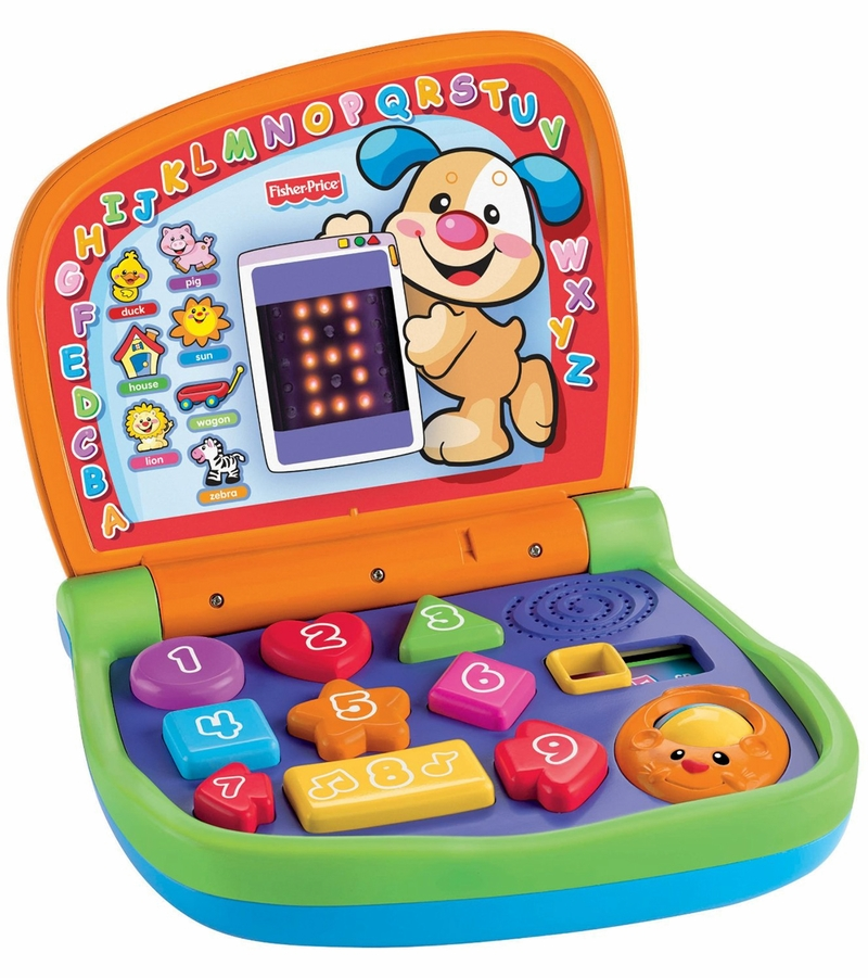 Fisher Price - Laugh & Learn - Smart Stages Laptop ...