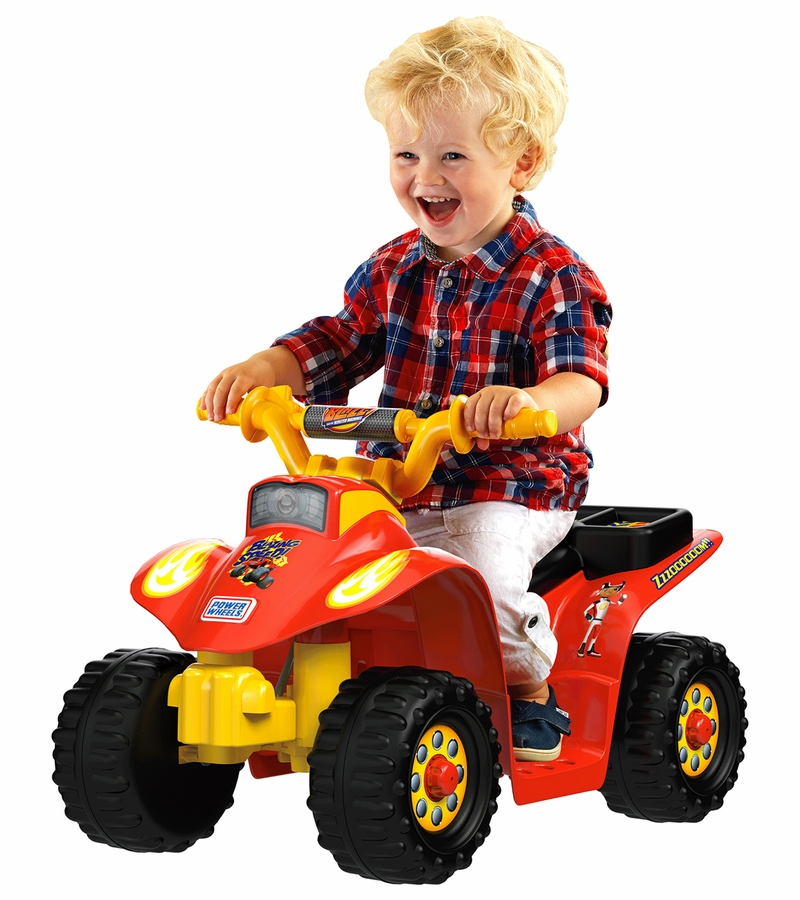 Fisher-Price Power Wheels Lil? Quad - Nickelodeon Blaze ...